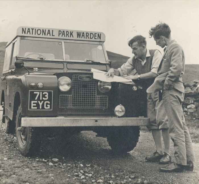National Park Warden Wilf Proctoron patrol