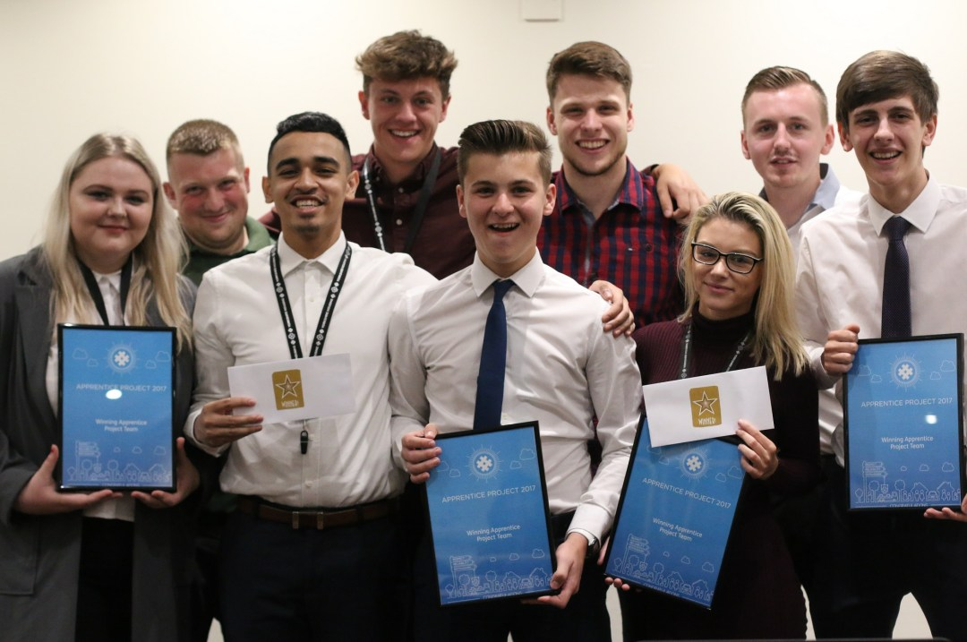 Group apprentices yorkshire housing