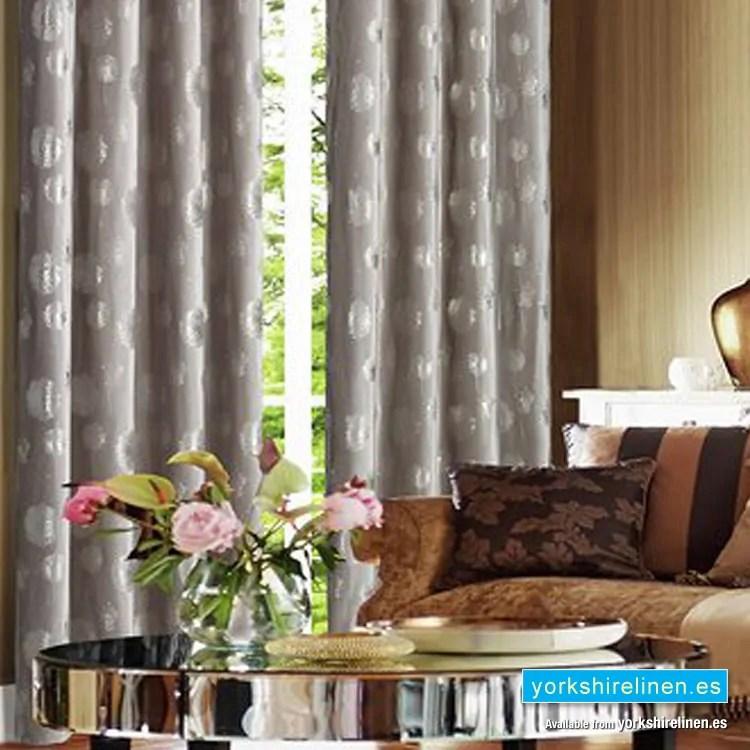 dandelion beige curtain panel
