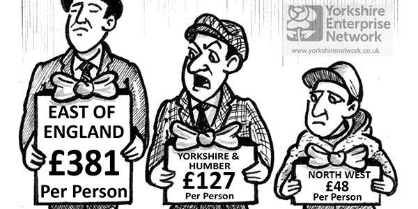 YEN Cartoon: Half Of All Flood Defence Money To Be Spent