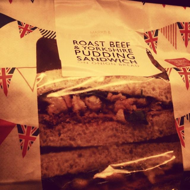 Yorkshire Pudd Sandwich