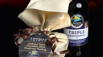 Thomas the Baker Christmas pudding