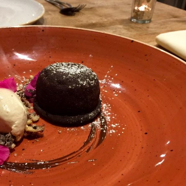 Chocolate dessert at The Alice Hawthorn