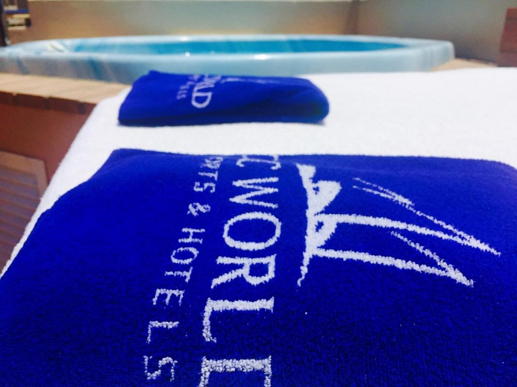Signature Suite Hot Tub Area Club Costa World