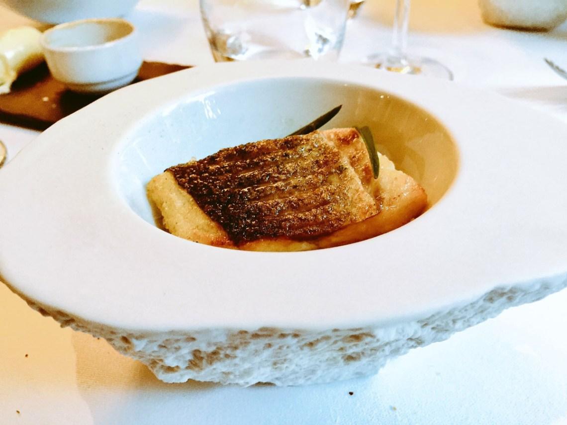 fish dish at the black swan