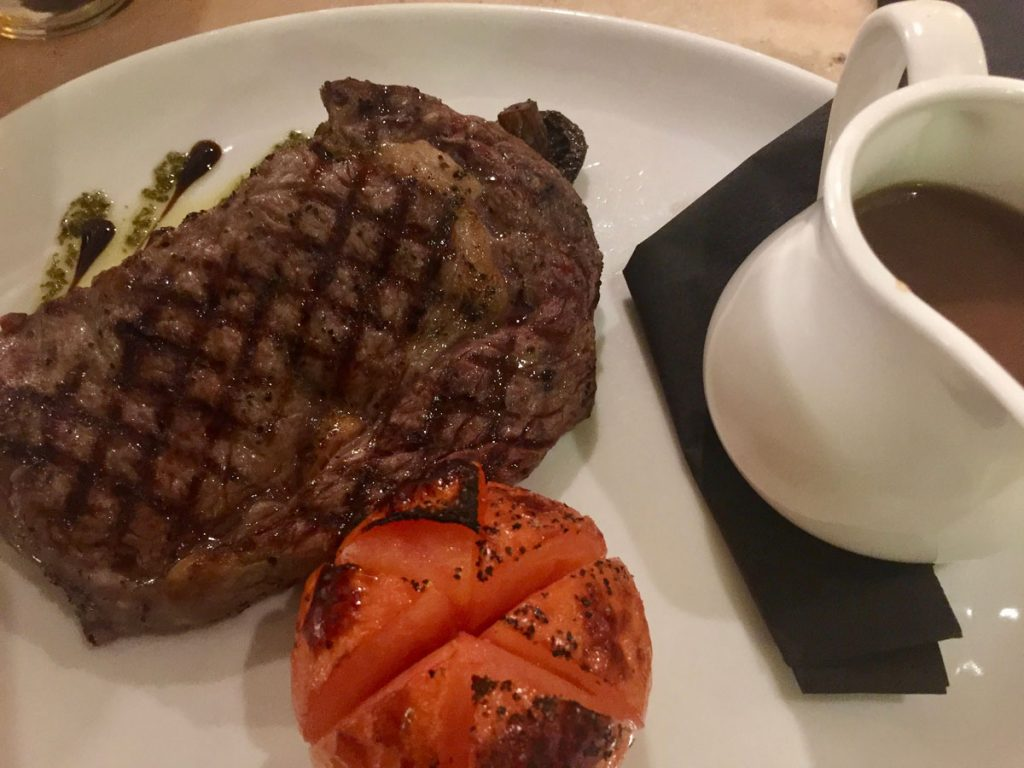Steak at New Conservatory