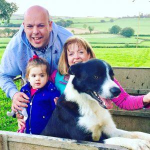 Family photo whilst in Devon