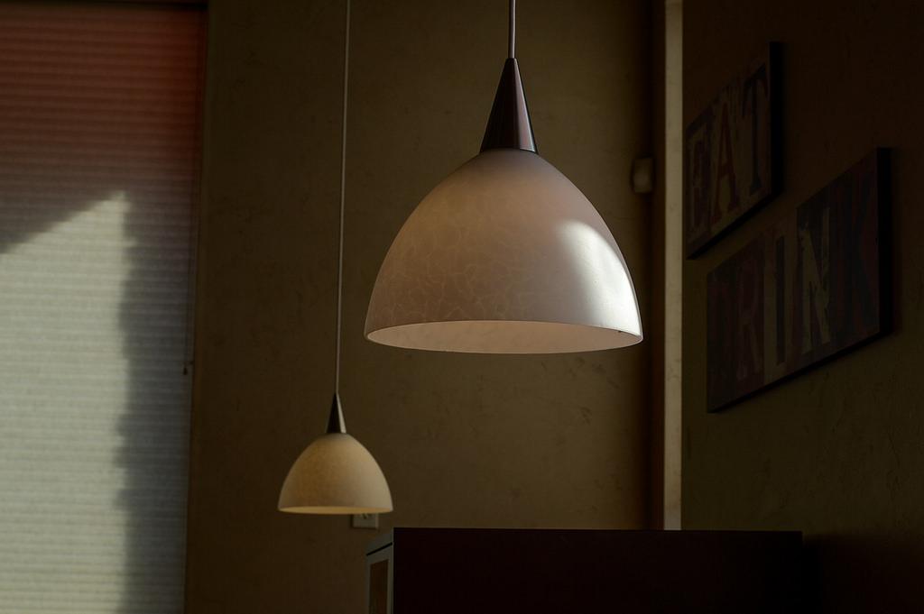 lamps in a bedroom