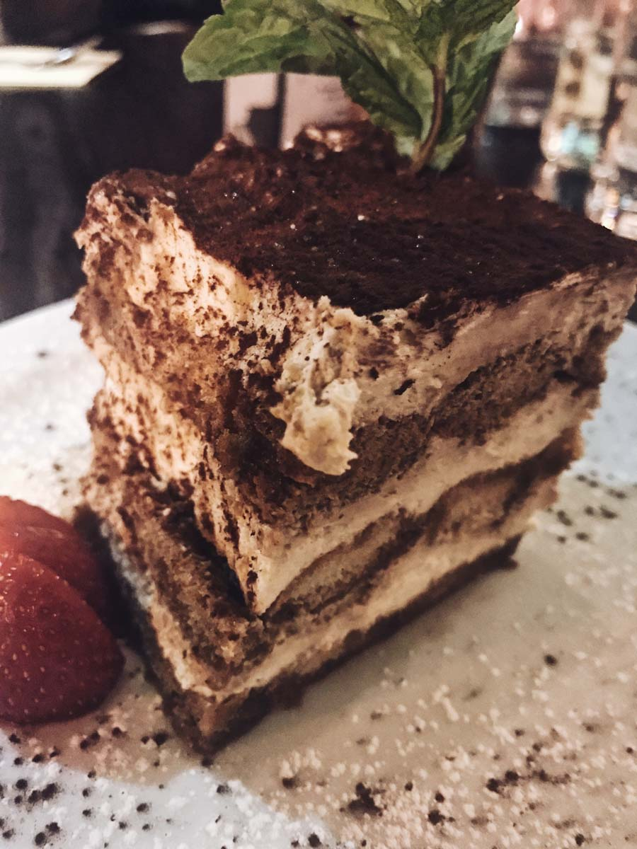 Dessert at Salvo's