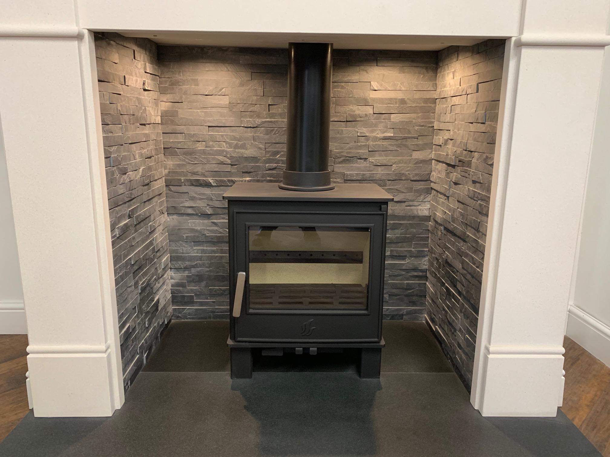 slate tiled chamber yorkshire stoves