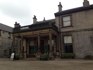 Lotherton Hall is currently hosting the 'Dressed for Battle' exhibition.