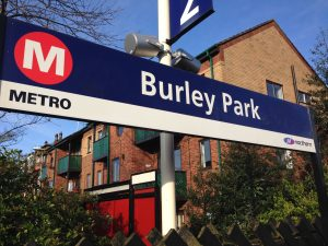 Many passengers are left on the platform at the Burley Park and Headingley stops