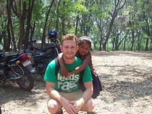 Leeds University student Richard Mayne who is believed to have died in the aircrash in the Ukraine.