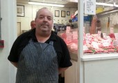 Butcher, John Jonston, 50, hopes the changes will benifit his business.