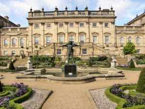 Picturesque: Harewood House will be the backdrop for the event.