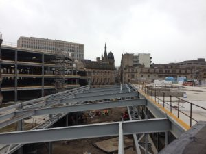 The shopping centre will open in late 2015.