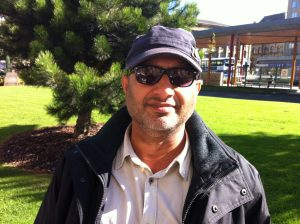 Aurangzeb Khan, 55, wants to be a part of the scheme to improve the image of Bradford.