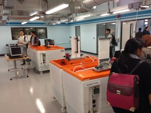 The £1.5m engineering laboratory will offer students hand-on experience.