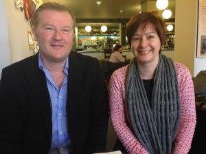 Steve Wainwright and Emma Cheshire from Future Labs
