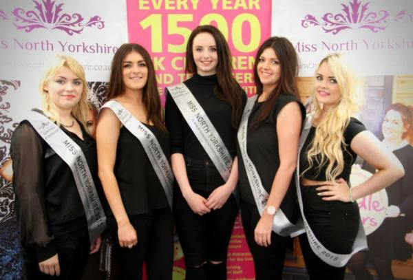Miss North Yorkshire finalists will battle it our on Saturday
