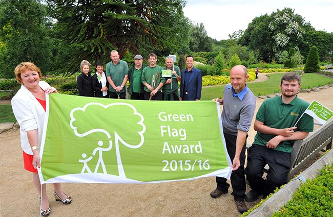 Green Flag Awards 2015
