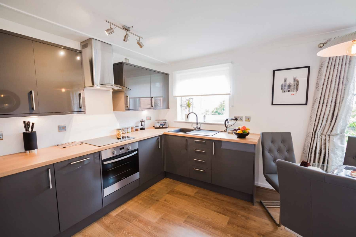 Cloisters Walk, Holiday Let, york stay, Kitchen