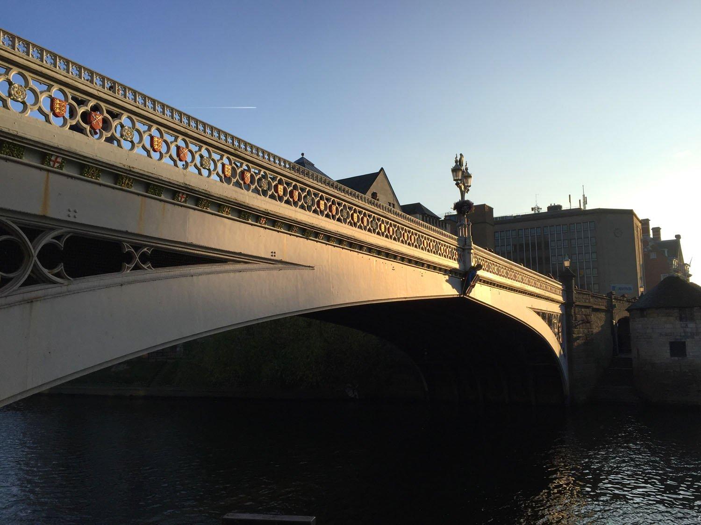 Autumn Colours - Lendal Bridge - York