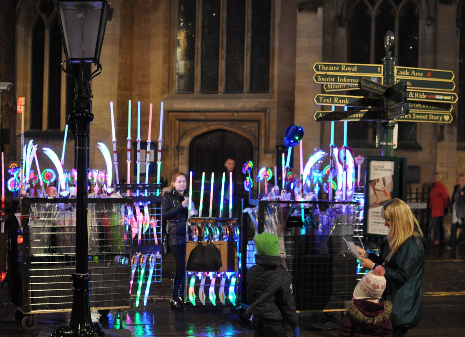 Illuminating York 2015 - St. Helen's Square