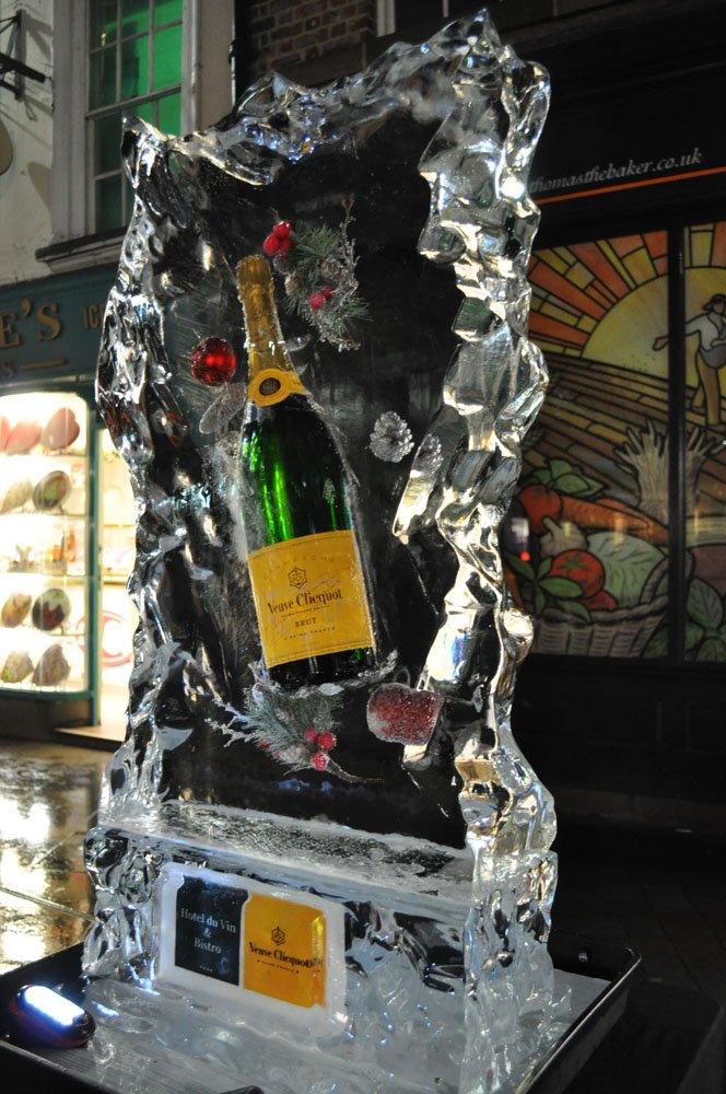 Hotel Du Vin York - Ice Sculpture