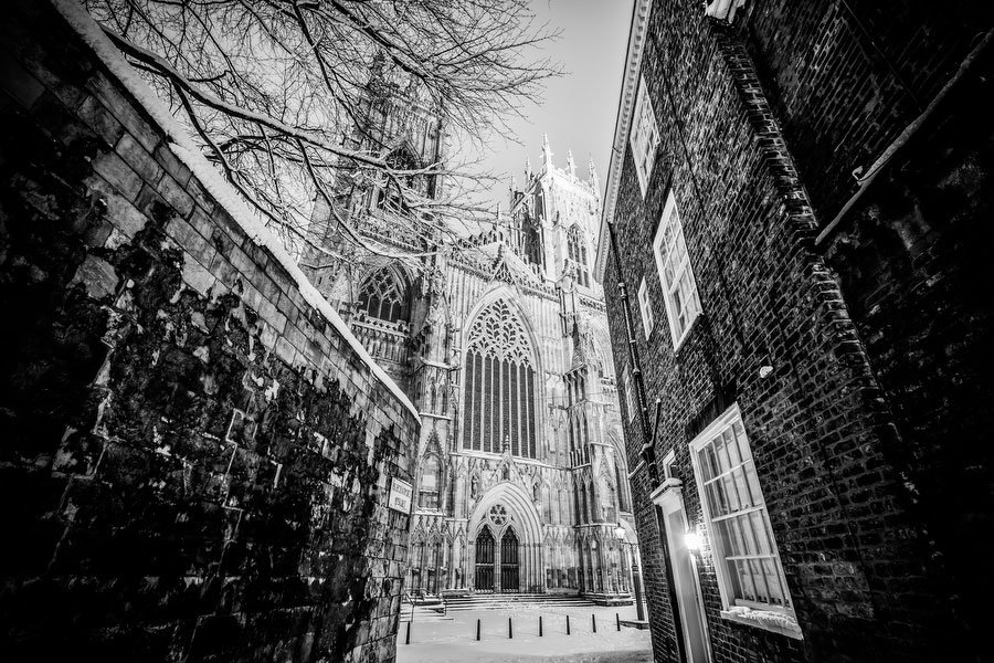 York Image - Black and White by Jim Poyner