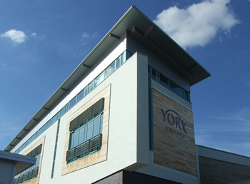York College building, July 2007
