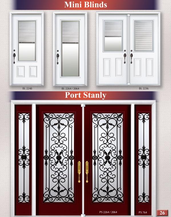 Entry Door Glass Inserts