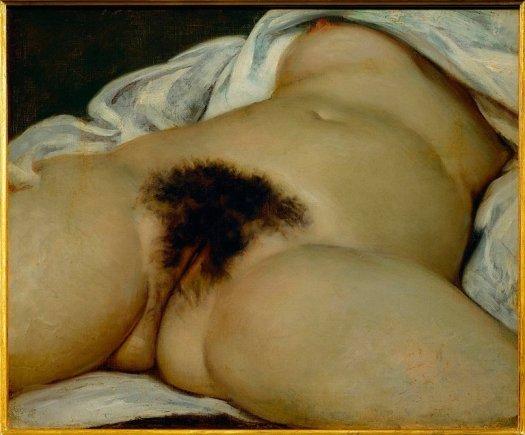 Vello púbico en el arte