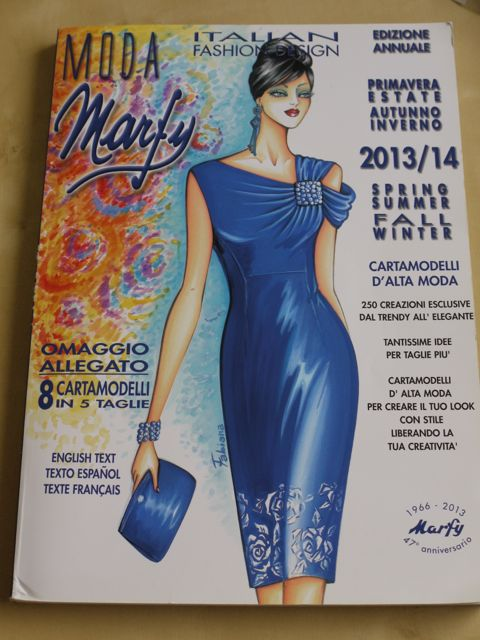 Marfy 2013/14 pattern catalogue.