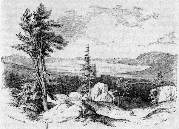 "Scenes Of And Curiosity In California 1862 ""lake"
