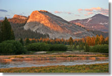 Tuolumne Meadows and Lembert Dome