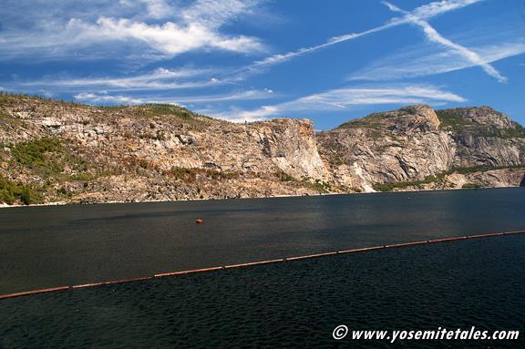 Hetch Hetchy Reservoir July, 2014. At the highest level I've ever seen.