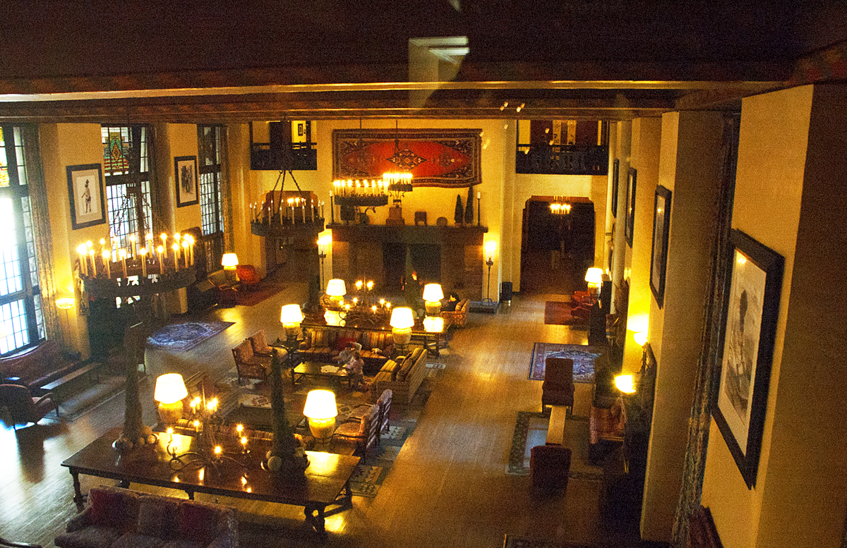 the yosemite of yesteryear part 4 glacier point hotel more lodge hall at the ahwahnee