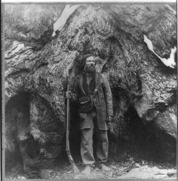 Galen Clark in 1865 (Photo by C.E. Watkins)