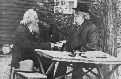 Galen Clark with His Friend George Fiske