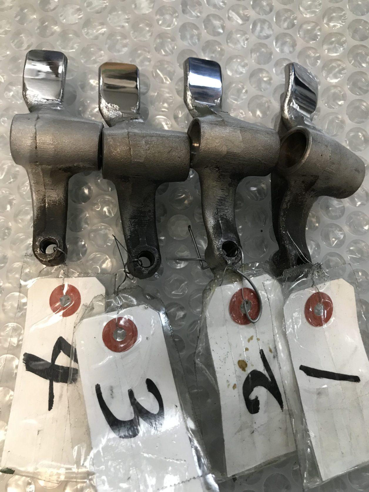 HONDA CB72 ロッカーアーム  再生メッキ