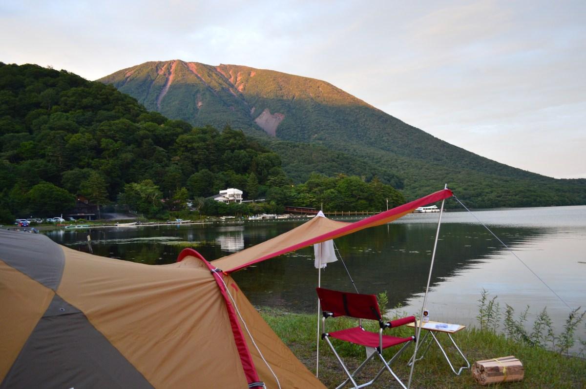 スポーツカーツーリング・キャンプ_日光中禅寺湖菖蒲ヶ浜キャンプ場でソロキャンプ💕 Pt.1