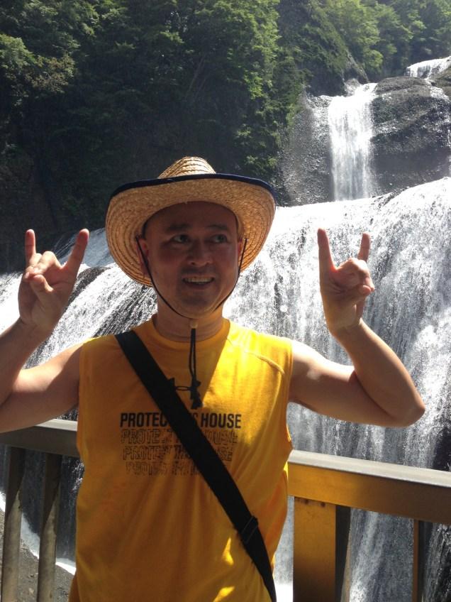 奥久慈袋田の滝