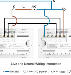 option 4 connect two yoswit 3 way switches 3 wire with neutral wire  [ 1140 x 834 Pixel ]