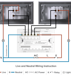 option 2 connect yoswit 3 way switch with two common 3 way switches 3 wire with neutral wire  [ 1140 x 1030 Pixel ]