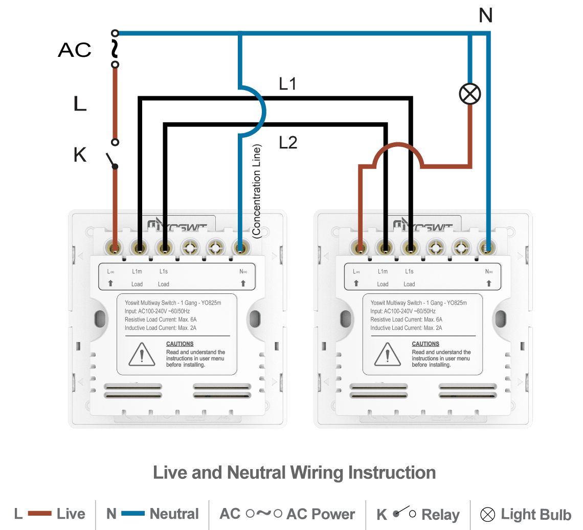 2 way switch failure