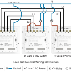 1 Gang One Way Switch Wiring Diagram 1998 Ford Contour Svt Radio Smart 3 Socket 86 2 Home