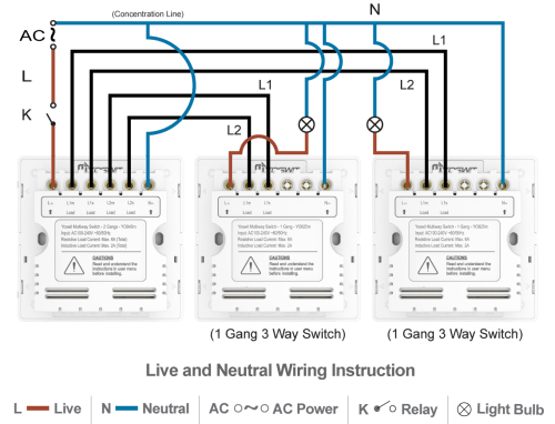 small resolution of 3 way switch wiring 1 light instructions