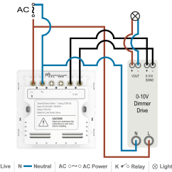 3 Way Wiring Diagram With Dimmer Switch Human Heart Posterior 10v Installation