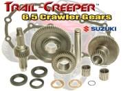 Zuk 6.5 Tcase Gears